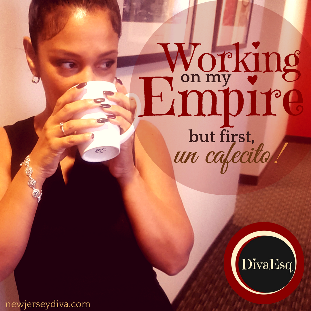 Working on my Empire -cafecito