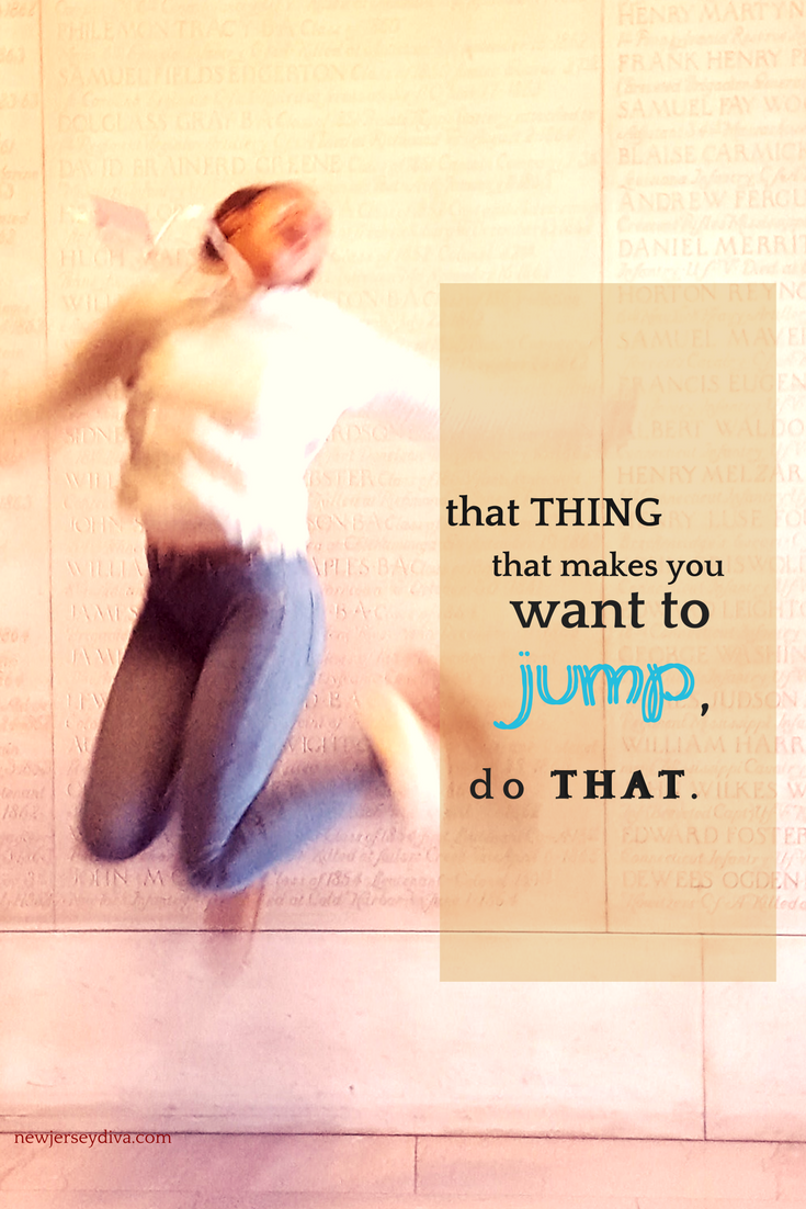 That thing that makes you jump