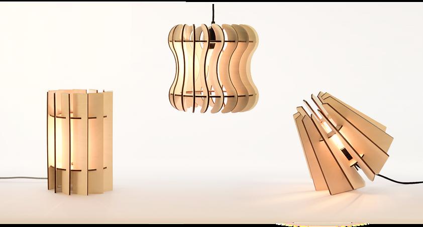 Luminaires My-Wood