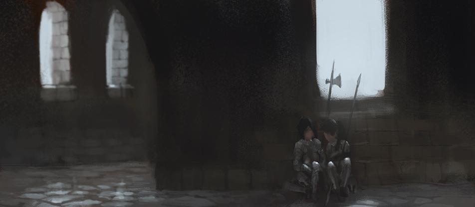 Resting squires
