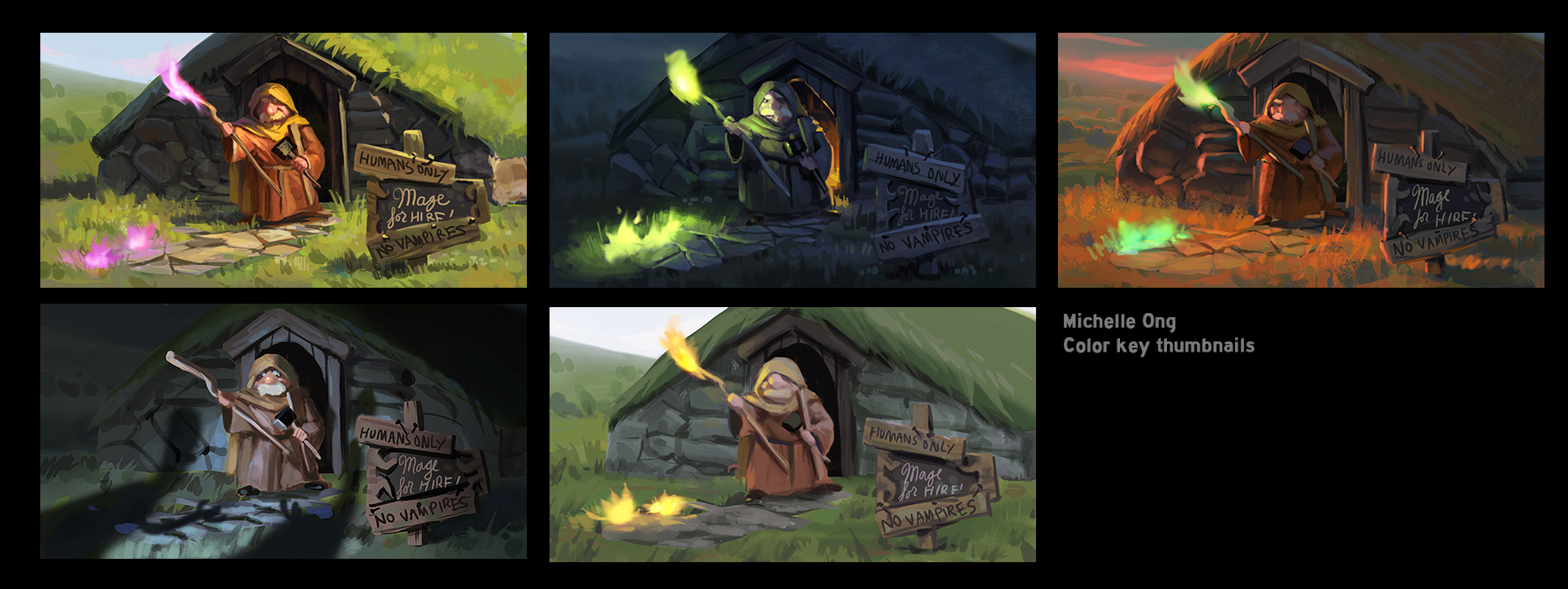 Color key thumbnails