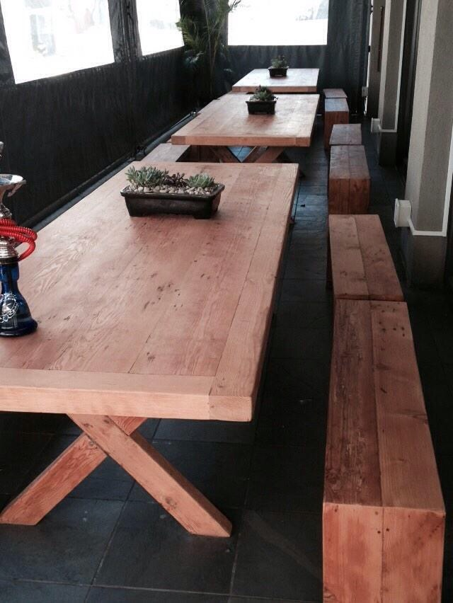 Oregon dining room table