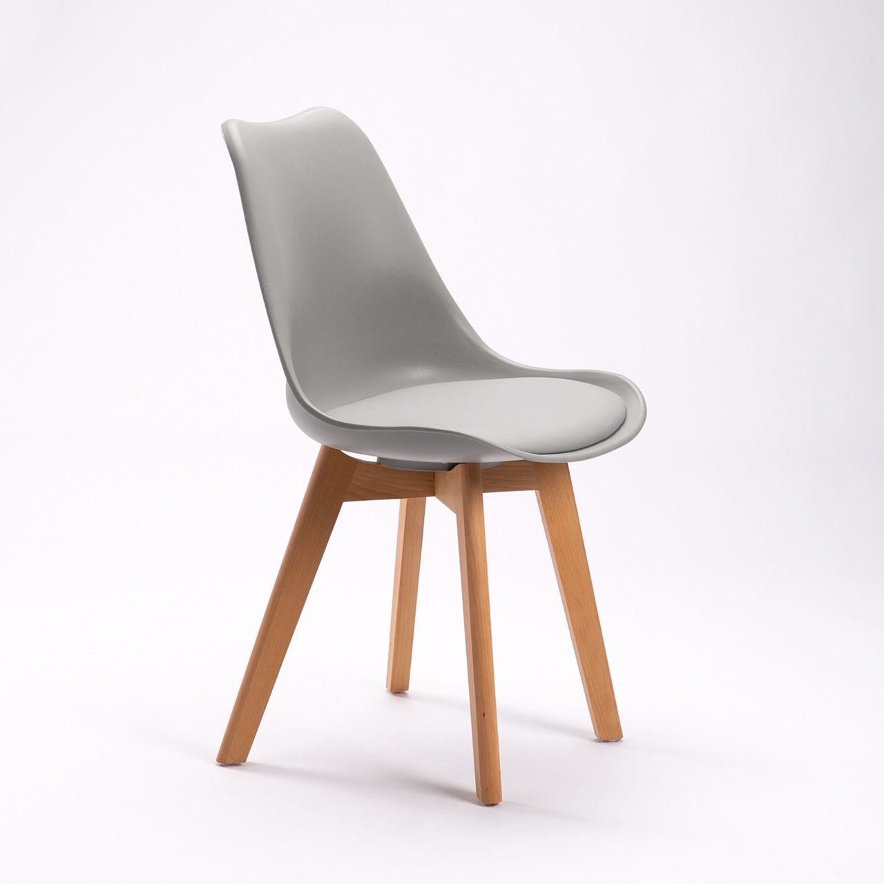 Grey dining room chair Leanne