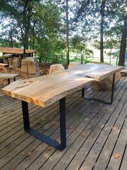Live edge lodge furniture