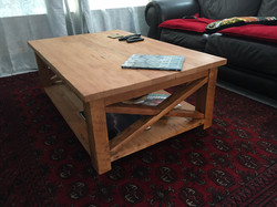 Coffee table cross