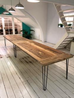 Boardroom table seats 14