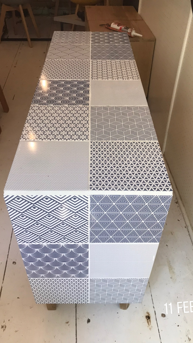 Ceramic tiles on any surface