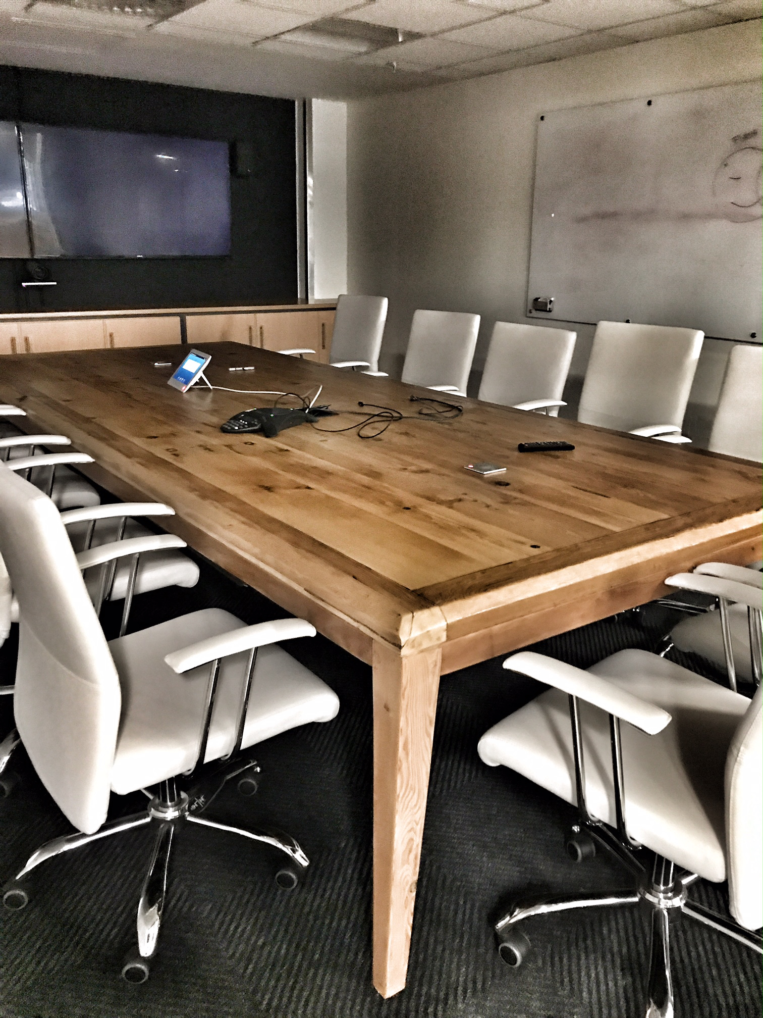 Oregon board room table