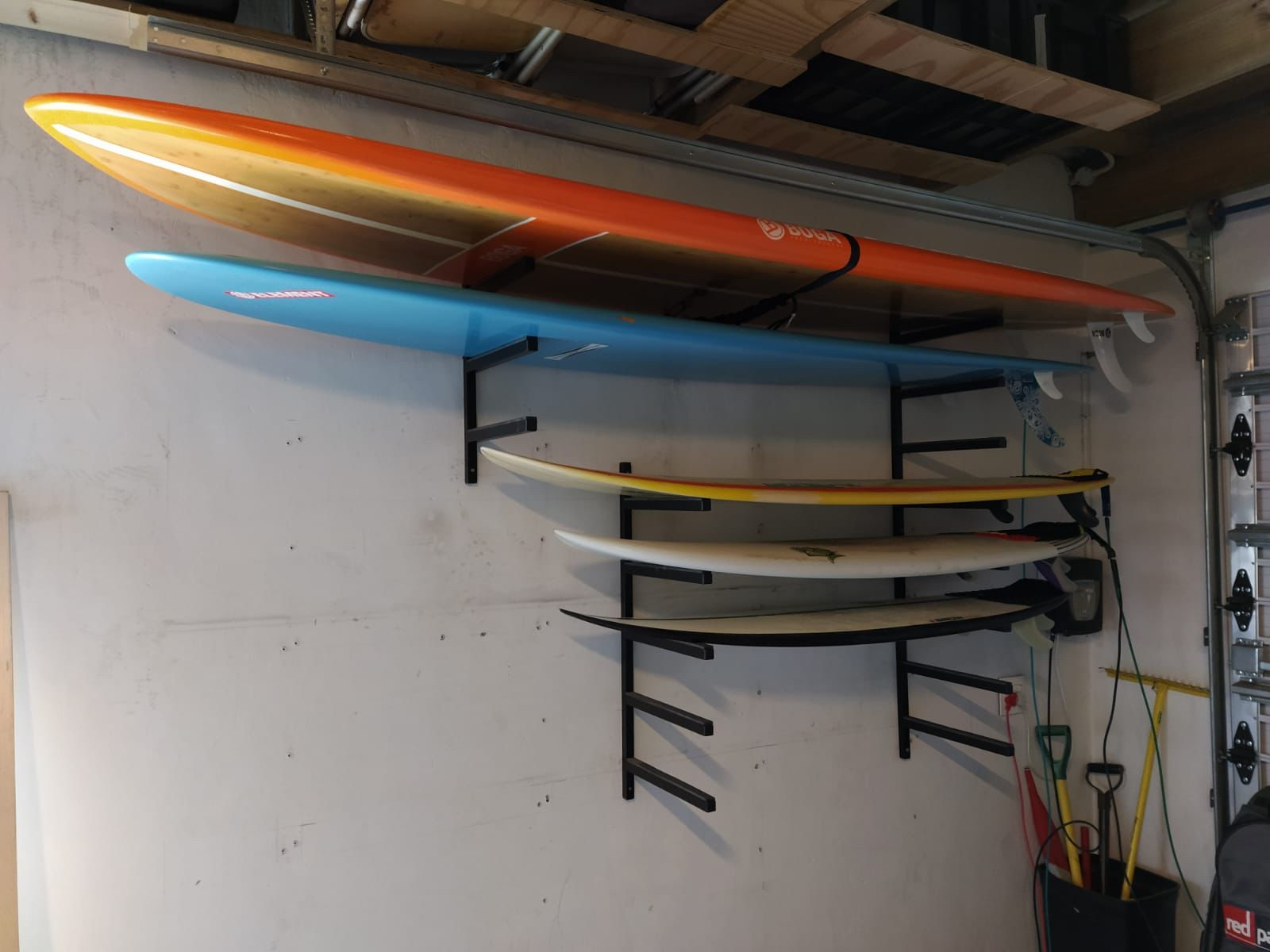 Surf racks in steel