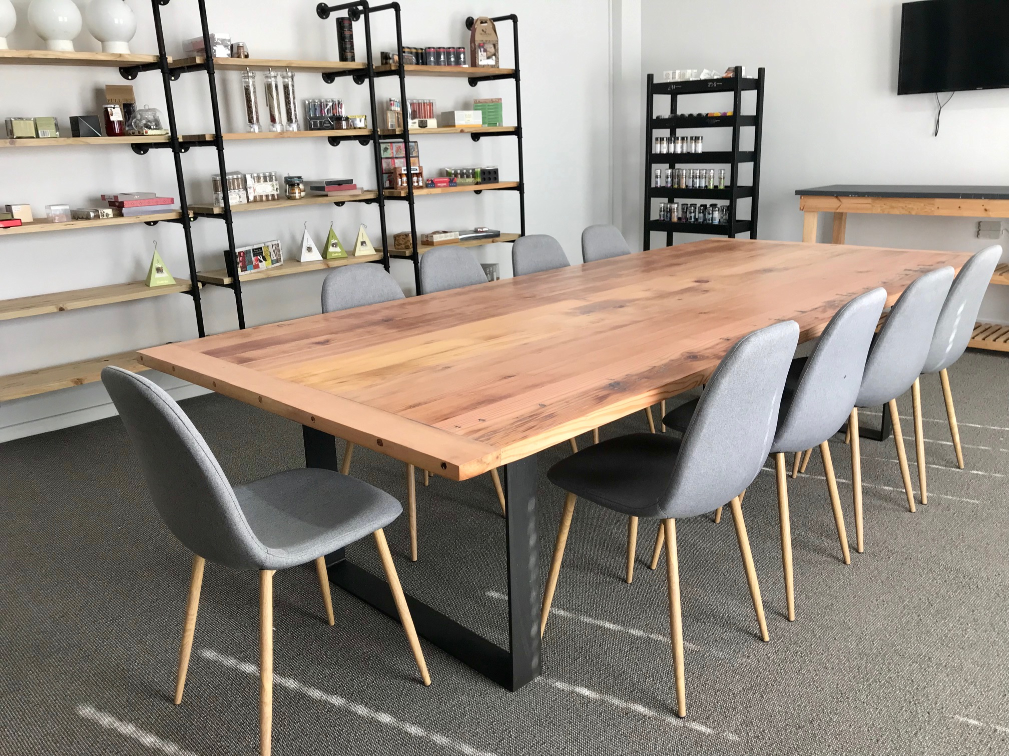 Recycled Oregon boardroom table