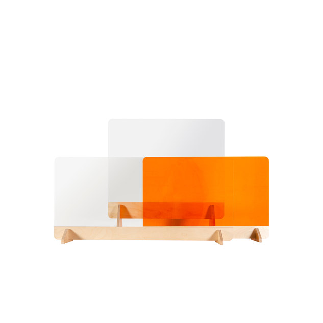 Multi colours for desk screens