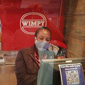Wimpy Perspex Screen