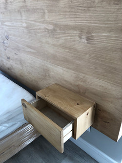Built in side table