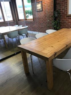 Meeting room table in Oregon