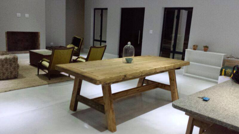 Paarl Boy dining room table.
