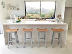 Island stools.
