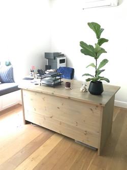 Custom L-shape desk