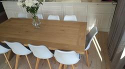 White Leanne chairs
