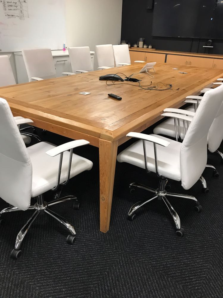 Boardroom table for Old Mutual