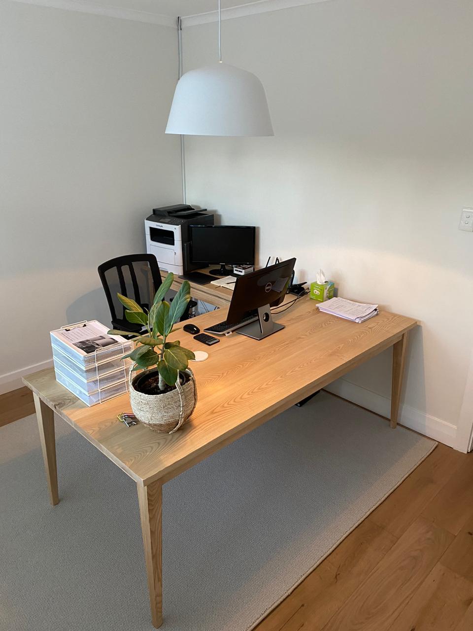 Ash home desk