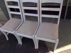 Fabric seats