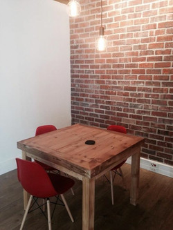 Pause rooms with single table