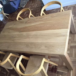 Lizl's Oak table.