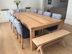 The Natasha's French oak table