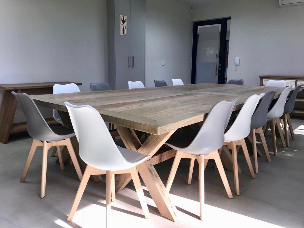 Office recycled boardroom table