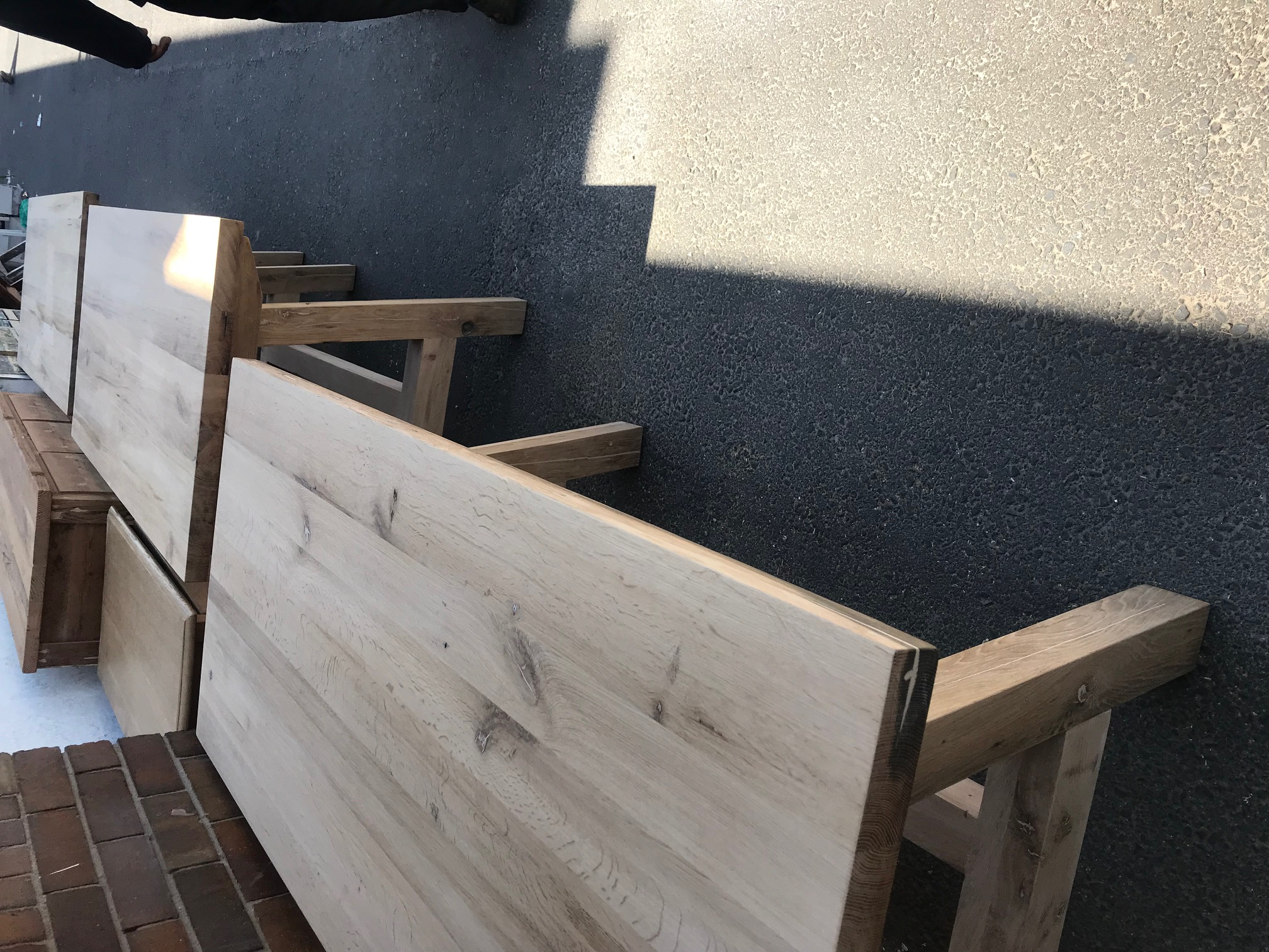 Oak desks