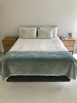 Oak bedside pedestals