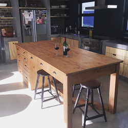 Kitchen island in the sun