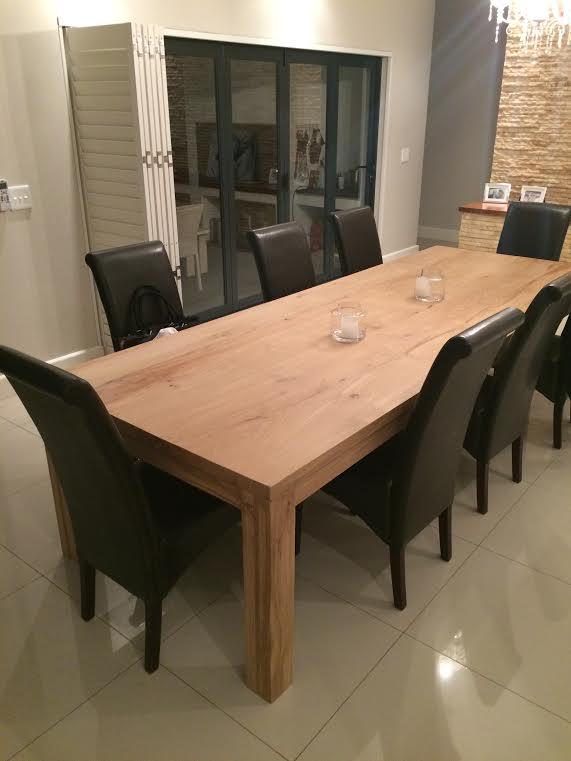 Matt's Oak table.