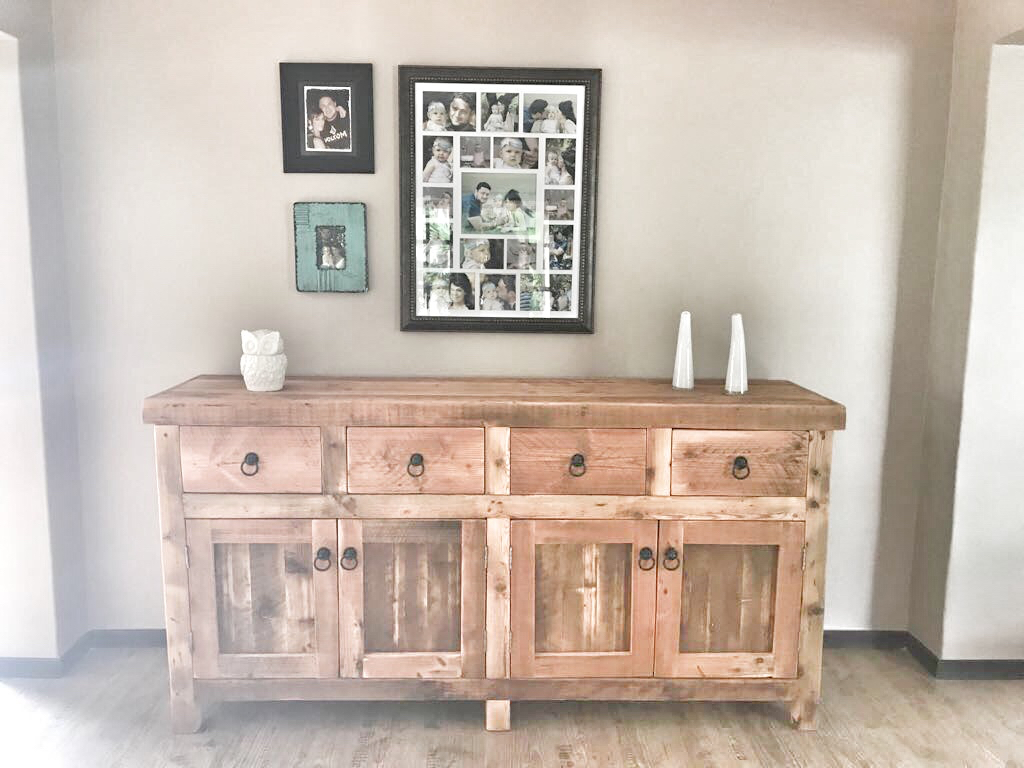 Charlene's sideboard in Oregon