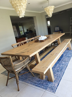 Dining room table 12 seater