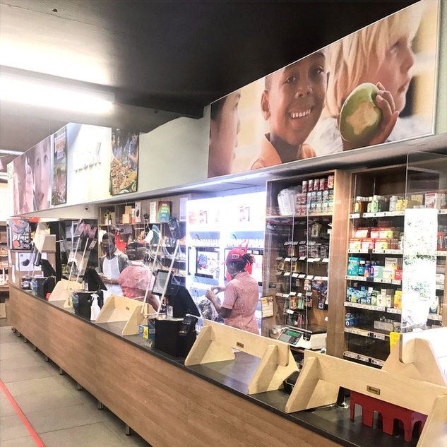 Perspex Screens for retailers