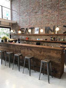 VML office bar in recycled oregon