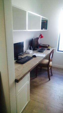 Rustic desk top