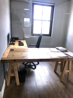 Office desk L-shape