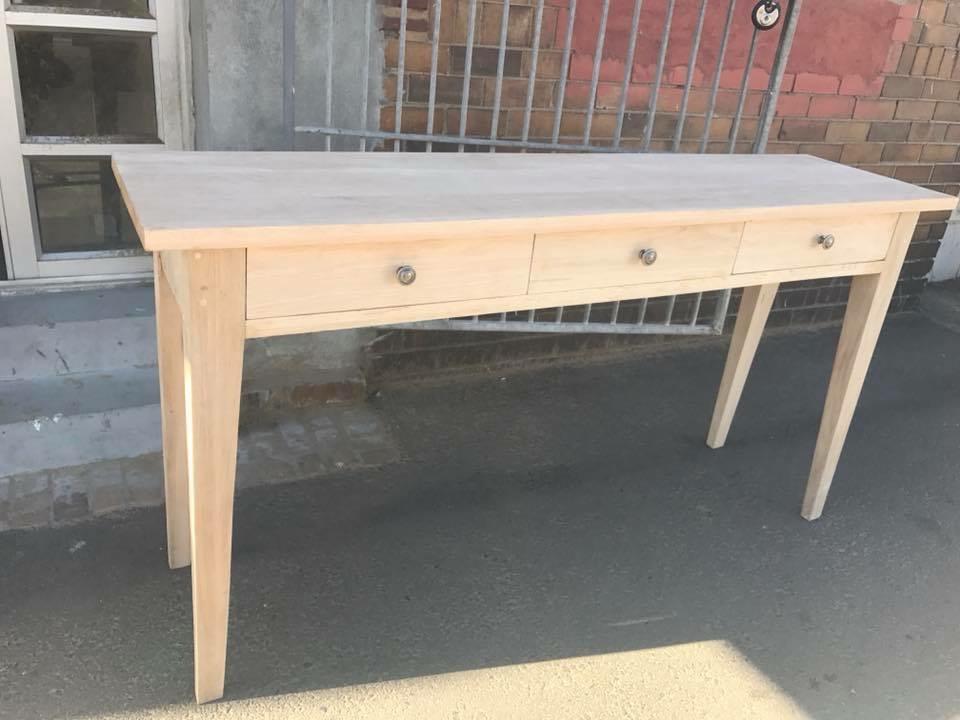 Oak home desk
