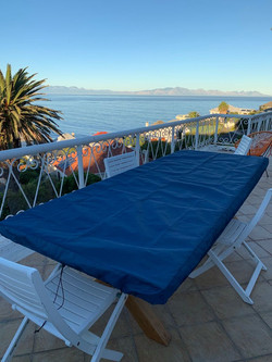 Waterproof cover outdoor table