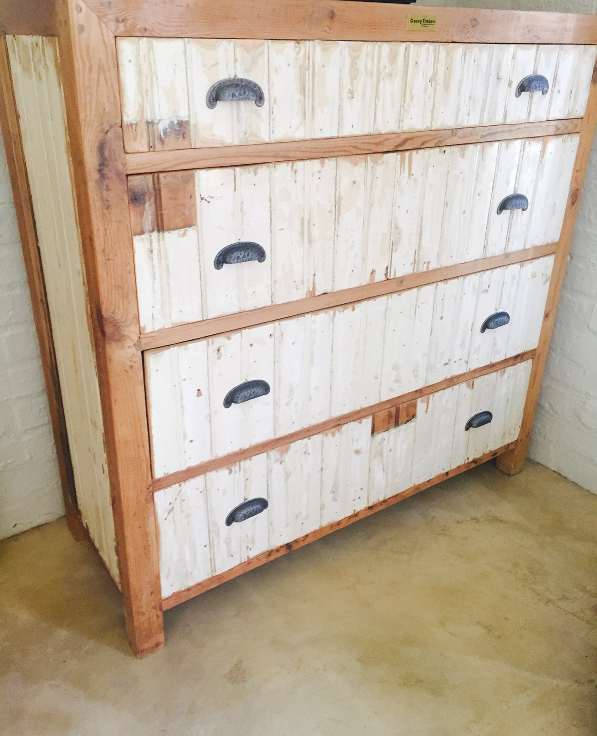 Rustic chest of draws
