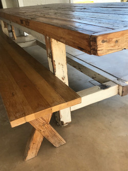 Oregon bench