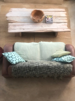 Recycled coffee table