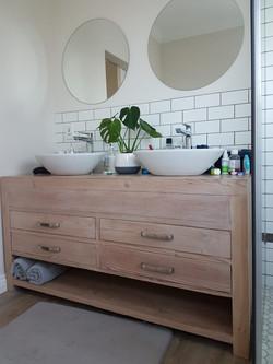 Recycled Oregon vanity