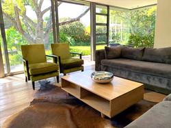 Oak coffee table Scandi