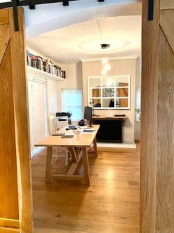 Home Oak office desk