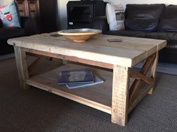 Louis recycled coffee table X factor