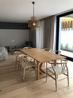 French oak dining room