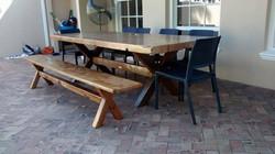 Australian outdoor table.